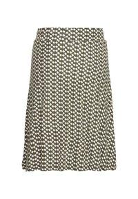 TOM TAILOR - SKIRT PRINTED - A-line skirt - khaki - 1