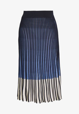 SKIRT MODERN PLISSEE - A-lijn rok - sea blue