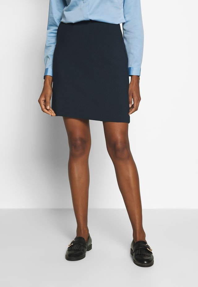 EASY SKIRT - Mini skirt - sky captain blue