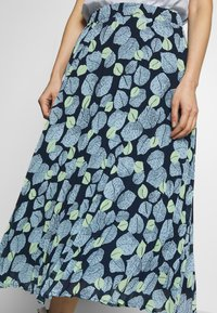 mine to five TOM TAILOR - SKIRT PRINTED - A-line skirt - navy - 4