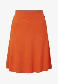 TOM TAILOR - EASY SHAPE - A-Linien-Rock - strong flame orange - 6