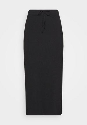 SKIRT - Pencil skirt - deep black