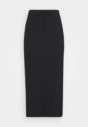 SKIRT - Pencil skirt - deep black
