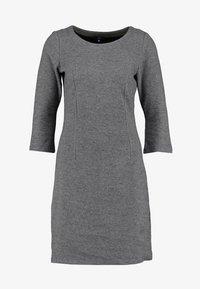 TOM TAILOR - MY COSY CASUAL DRESS - Etui-jurk - grey melange - 3