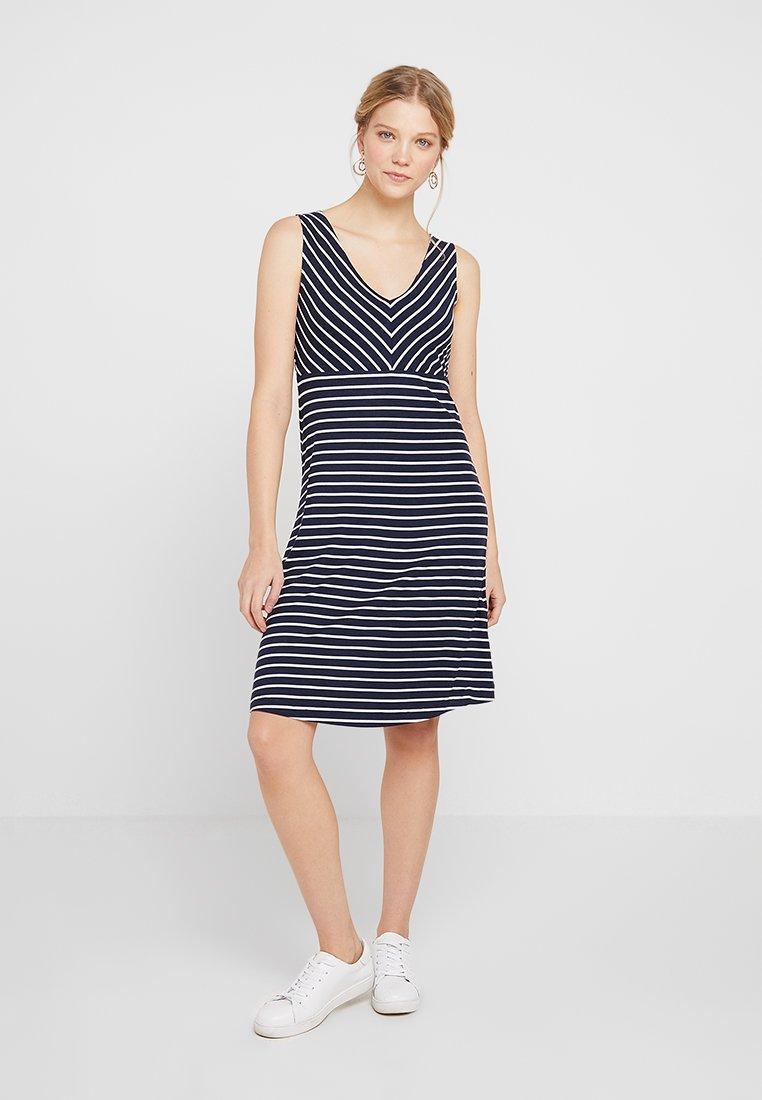 TOM TAILOR - Jersey dress - navy blue
