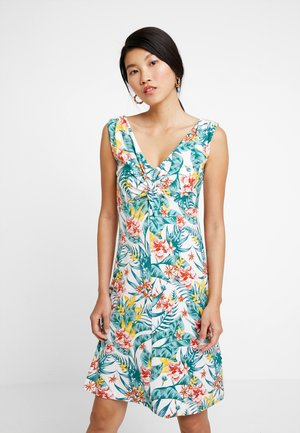 DRESS KNOT PRINTED - Jerseykjole - offwhite