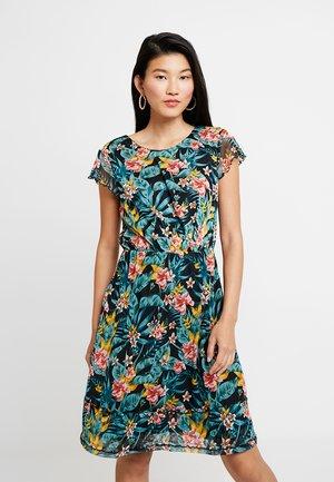 DRESS PRINTED - Denní šaty - black
