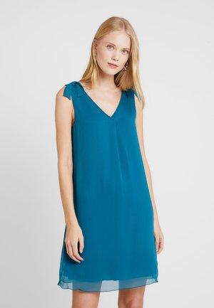 DRESS WITH KNOT DETAIL - Robe d'été - tropical lagoon/green