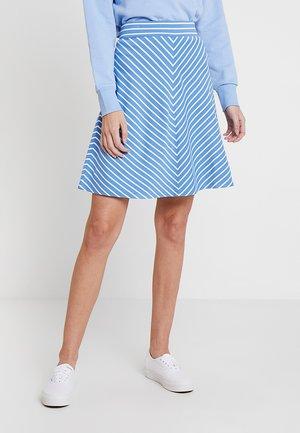 EASY STRIPED SKIRT - Áčková sukně - blue