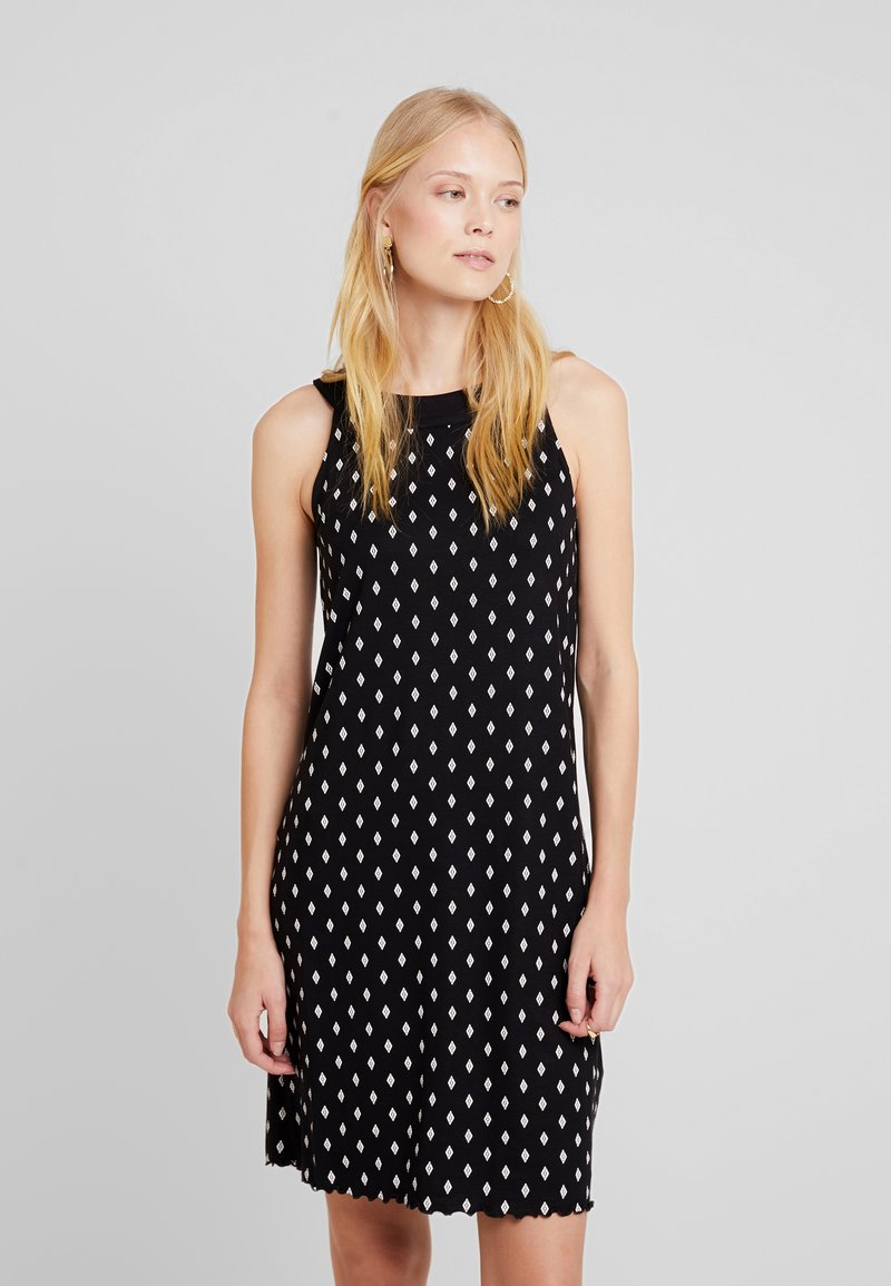 TOM TAILOR - AMERICAN NECKLINE DRESS - Jerseykleid - black diamond