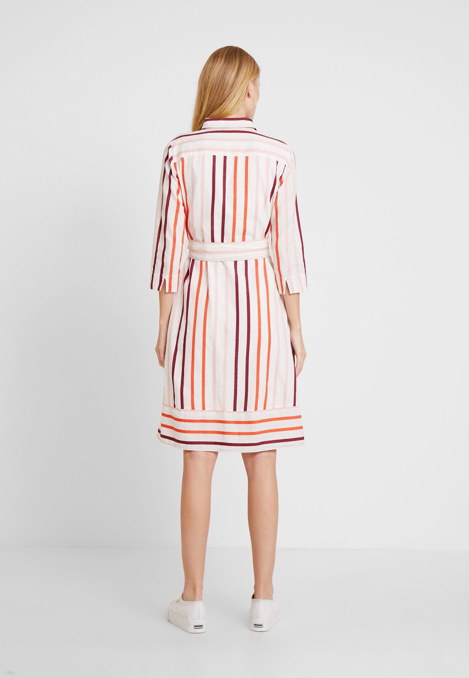 Dress Chemise Offwhite Tom Tailor StripeRobe qUMVpGSzL