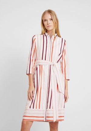 DRESS STRIPE - Skjortklänning - offwhite