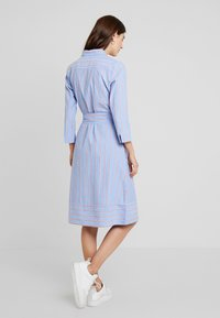 TOM TAILOR - DRESS WITH STRIPES - Blousejurk - blue/orange - 3