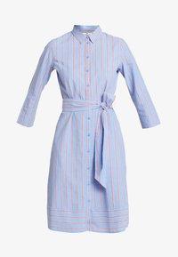 TOM TAILOR - DRESS WITH STRIPES - Blousejurk - blue/orange - 5