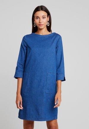 CASUAL DRESS - Spijkerjurk - dark stone wash blue
