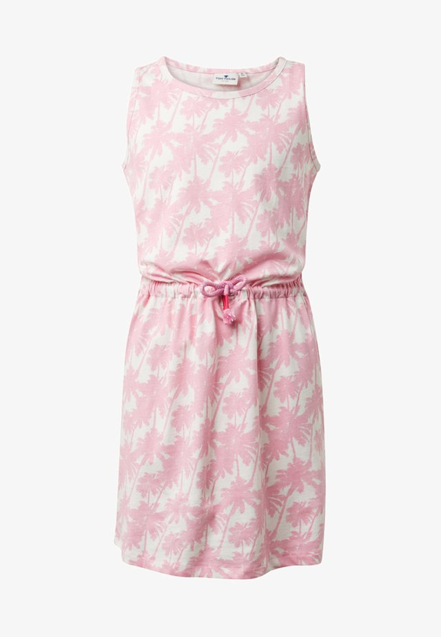 Jersey dress - sweet lilac|rose