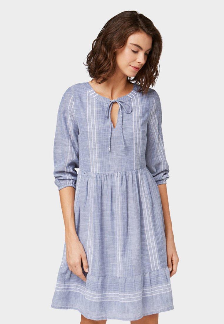 TOM TAILOR - Day dress - light blue
