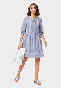 TOM TAILOR - Day dress - light blue - 1