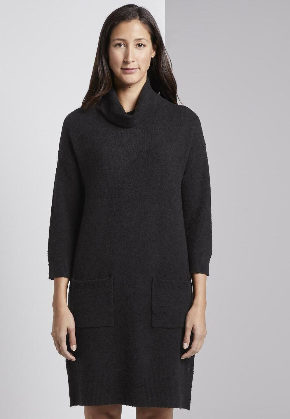 black TOM deep TAILOR Robe pullnoir 7g6Yybvf