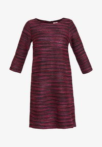 TOM TAILOR - DRESS - Abito in maglia - navy/red/pink/blue - 5