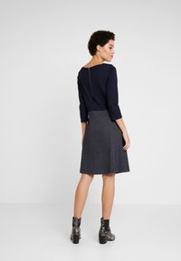 TOM TAILOR - DRESS 2 IN 1 STRUCTURED - Vestito estivo - sky captain blue - 3