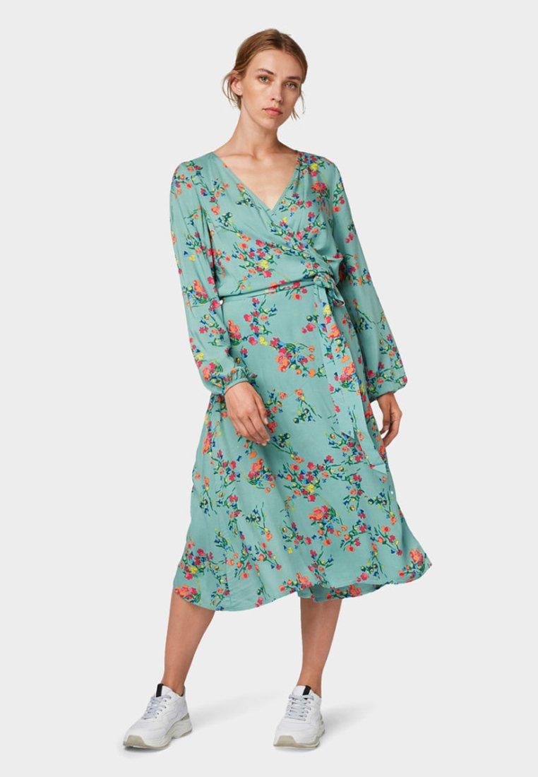 TOM TAILOR - Maxi dress - mint