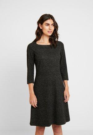 DRESS A-SHAPE SALT AND PEPPER - Kotelomekko - grey black