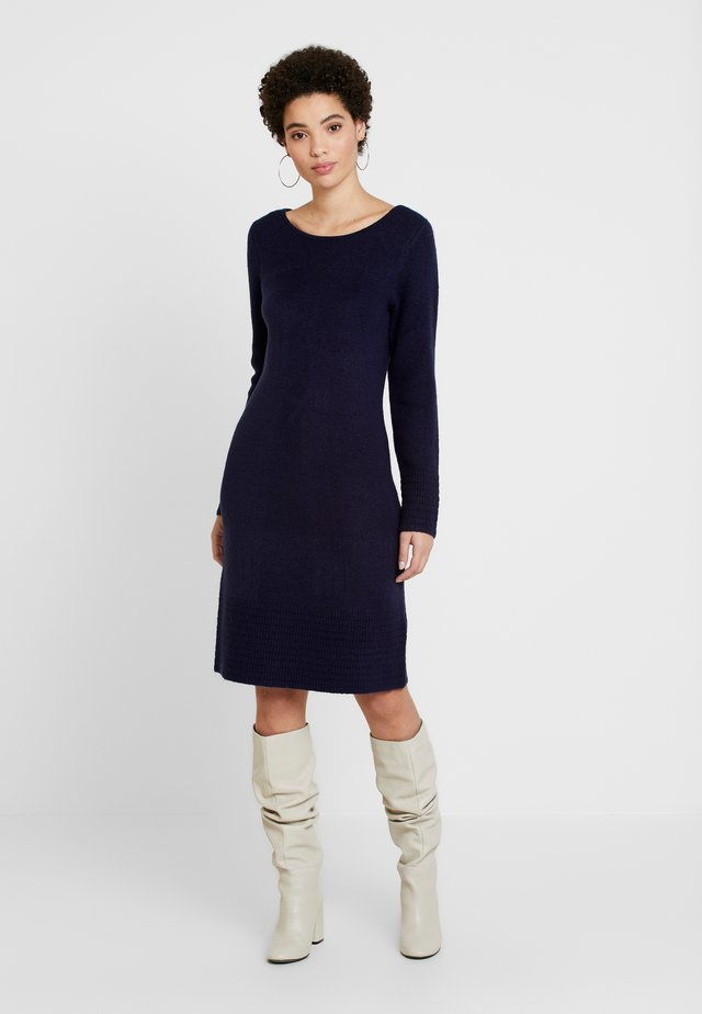 DRESS - Jumper dress - real navy blue