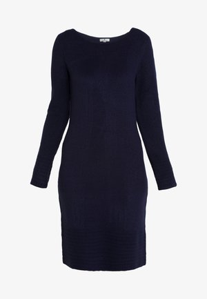 DRESS - Sukienka dzianinowa - real navy blue