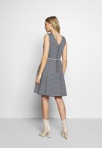 TOM TAILOR - DRESS FESTIVE FEMININE - Day dress - navy/offwhite - 2