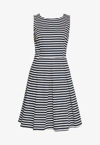 TOM TAILOR - DRESS FESTIVE FEMININE - Day dress - navy/offwhite - 4