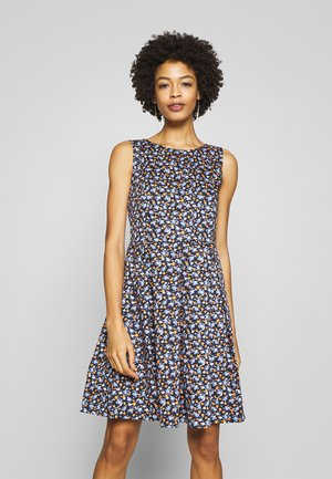 DRESS FESTIVE FEMININE - Day dress - navy blue