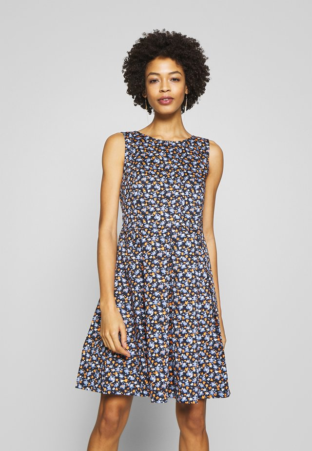 DRESS FESTIVE FEMININE - Sukienka letnia - navy blue