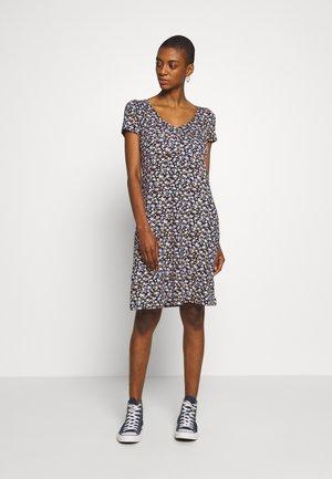 DRESS - Žerzejové šaty - navy