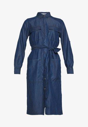 DRESS - Day dress - Denim blue
