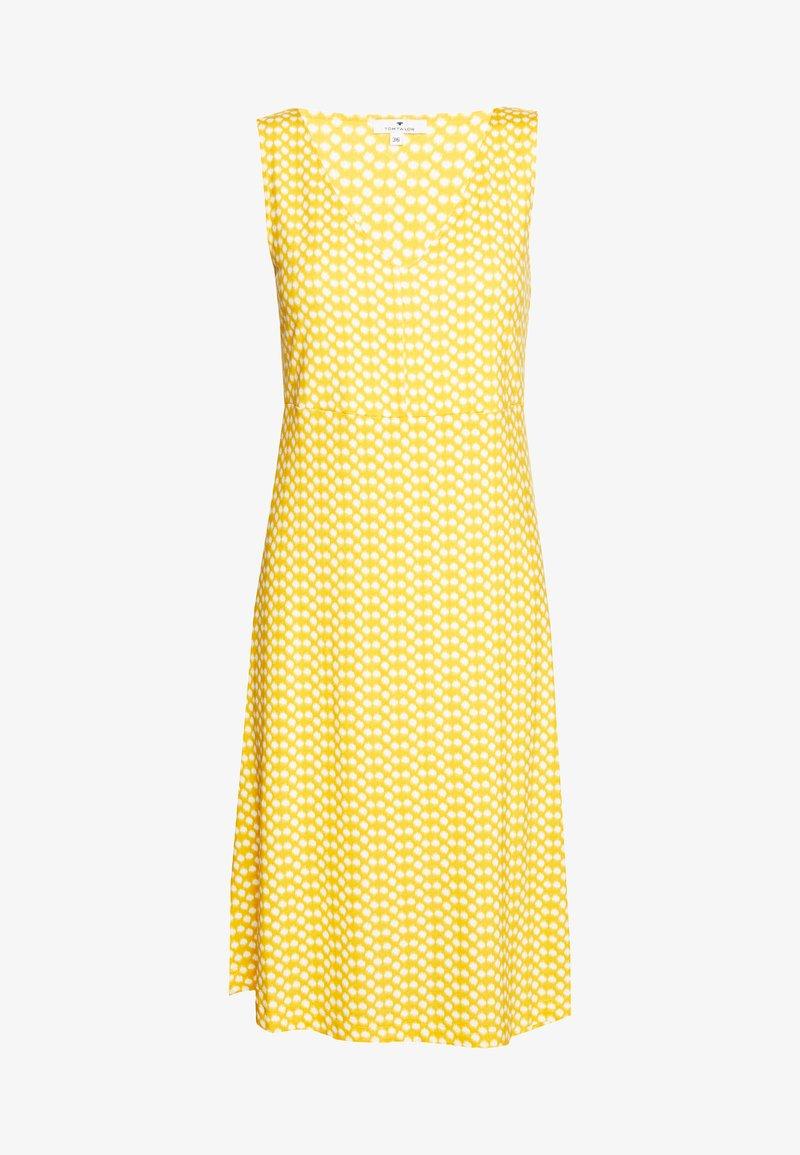 TOM TAILOR - Jersey dress - yellow