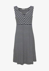 navy/stripe