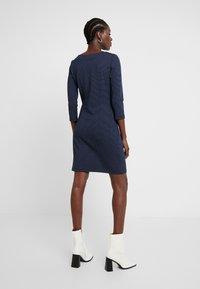 TOM TAILOR - DRESS SHIFT - Etuikjole - dark blue - 2