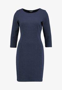 TOM TAILOR - DRESS SHIFT - Etuikjole - dark blue - 4