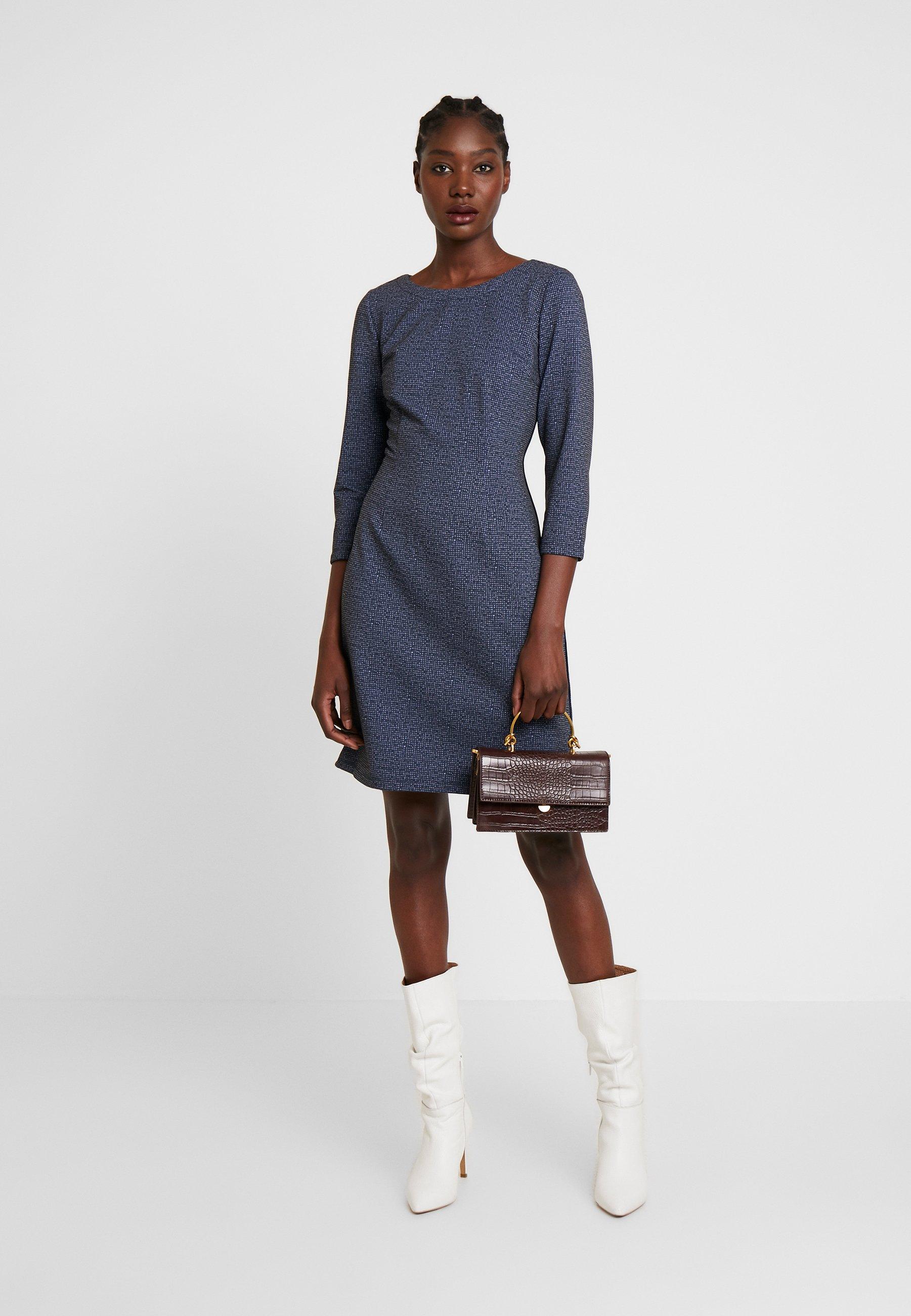 Tom Tailor Dress Casual - Jerseykjole Navy Blue