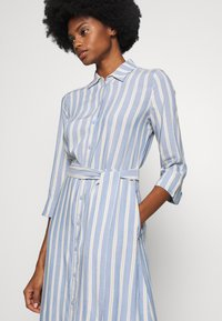 TOM TAILOR - STRIPED - Blousejurk - blue/yellow - 3