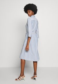 TOM TAILOR - STRIPED - Blousejurk - blue/yellow - 2