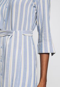 TOM TAILOR - STRIPED - Blousejurk - blue/yellow - 5