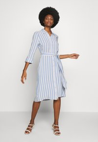 TOM TAILOR - STRIPED - Blousejurk - blue/yellow - 0