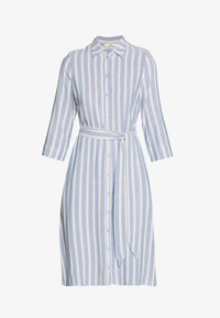 TOM TAILOR - STRIPED - Blousejurk - blue/yellow - 4