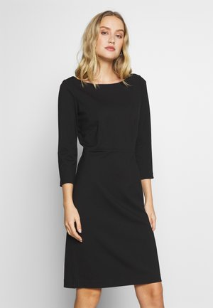 DRESS PUNTO DIE ROMA - Vestido informal - deep black