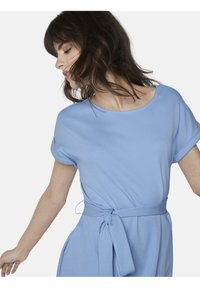 mine to five TOM TAILOR - DRESS A-SHAPE BELTED - Day dress - soft charming blue - 3