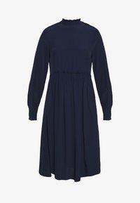 TOM TAILOR - DRESS WITH RUFFLE DETAILS - Vestido informal - sky captain blue - 6
