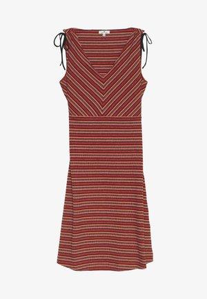 DRESS SHORT - Jersey dress - red