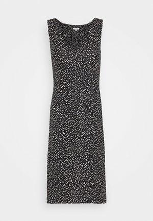 Shift dress - black/offwhite